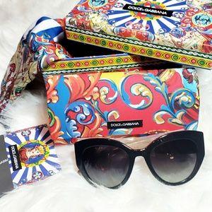 Authentic Dolce & Gabbana Wood Sunglasses